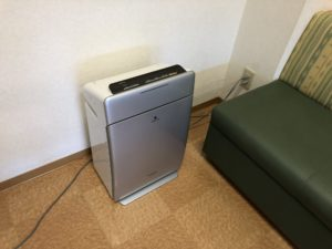 加湿空気清浄機メンテナンス