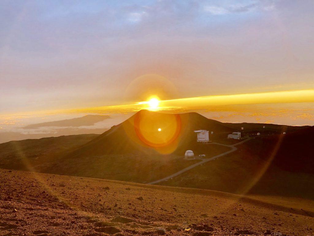 マウナケアの夕陽