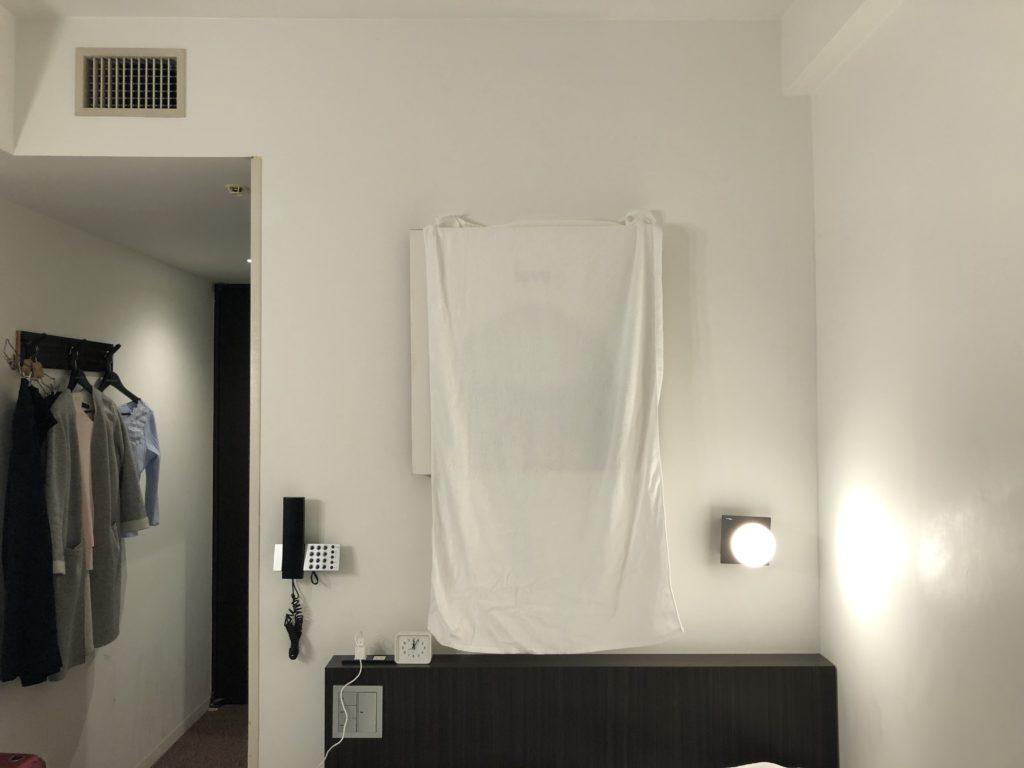 ホテルのアート