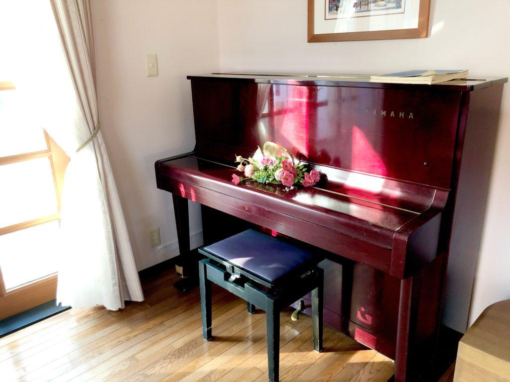 ピアノの断捨離